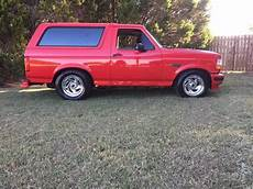 Ford Bronco Lowered