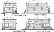 plan 23574jd northwest house plan for front sloping northwest house plan for front sloping lot 23574jd 2nd