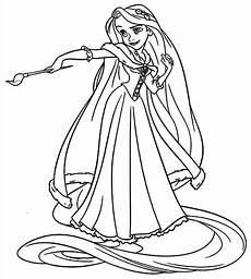 Ausmalbilder Rapunzel Malvorlagen Junior Rapunzel Picteaza