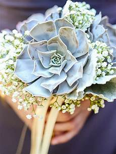 29 stunning ways to use succulents in your wedding flower bouquet wedding bridesmaid flowers