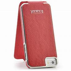 leder tasche f 252 r apple iphone 5 5s flip handy cover