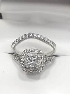 helzberg wedding rings helzberg princess cut diamond engagement and wedding band