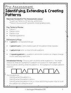 repeating patterns worksheets grade 2 233 grade 2 patterning activity packet by teachinginawonderland tpt
