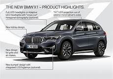 2020 bmw x1 breaks cover with larger grille and the