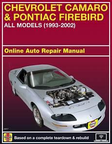 free download parts manuals 2001 pontiac firebird electronic throttle control 2001 pontiac firebird haynes online repair manual select access ebay