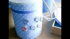 centro de mesa con tarro de dulce de leche reciclar y decorar un bote de leche infantil idea 1