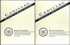 service and repair manuals 1994 cadillac fleetwood auto manual 1995 cadillac fleetwood brougham repair shop manual