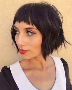 50 best short bobs with bangs haircuts and hairstyles for 2019