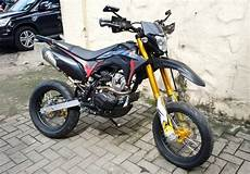 Modif Crf Supermoto by Honda Crf 150l 2019 Gresik Real Supermoto