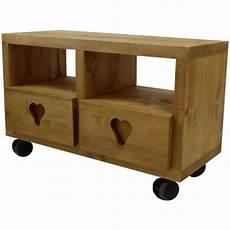 meuble tv cube meuble tv cube 2 tiroirs coeur 4 roulettes