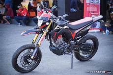 Modif Crf Supermoto by Intip Modifikasi Honda Crf150l Supermoto By Ahm Gambaran