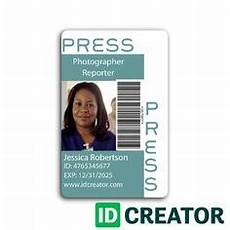 journalist id card template doctor id card 2 wit research cards id card template