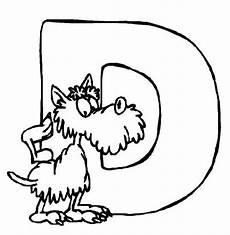 Ausmalbilder Buchstaben D Kostenlose Malvorlage Buchstaben Lernen Tierschrift D Zum