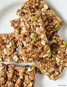 Healthy Seed Bar molasses and pumpkin seed no bake granola bars