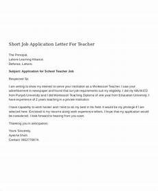 aplication leter sle for teaching position 16 job application letter for teacher templates pdf doc free premium templates