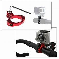 Puluz Pu171rfixed Metal Motorcycle Holder Mount by Puluz Bike Mount Aluminum Bicycle Holder Adapter Mount For