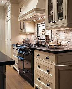 Kitchen Cabinet Colors With Black Appliances by Kitchen Black And White Kitchen Marble Subway Tile