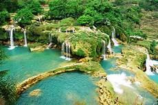 schönste orte der welt ban gioc wasserfall der scha nste wasserfall vietnams