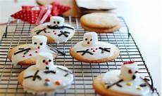 christmas cook melted snowmen christmas cookies recipe kidspot