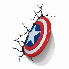 marvel 3d wall nightlight captain america target
