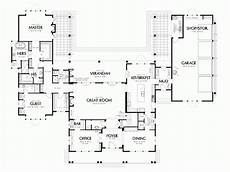 house plans with pools in the middle shaped house plans pool middle home house plans 35592