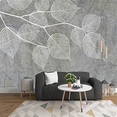 Modern Light Grey Wallpapers For Walls 3d Photo Wall