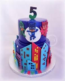 Malvorlagen Pj Masks Cake Pj Mask Birthday Cake With Images Pj Masks Birthday