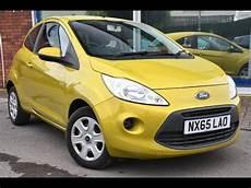 ford ka gebraucht used ford ka 1 2 edge 3dr start stop yellow 2015