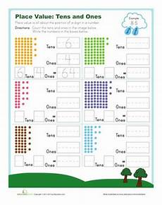 addition worksheets with tens and ones 9662 tens and ones tens ones grade math worksheets tens ones worksheets