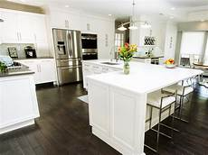 An Quot L Quot Shaped Kitchen Island Kitchen Family Friendly Kitchen With L Shaped Island Hgtv