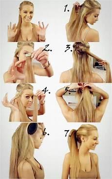 Frisuren Einfach Selber Machen - sch 246 ne frisuren ganz einfach selber machen frisuren