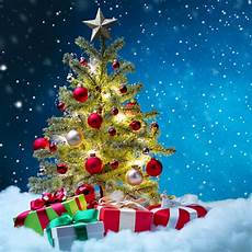 attractive tree gifts background fashion