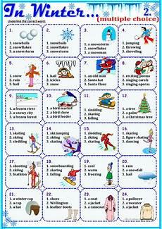winter vacation esl worksheets 19994 96 free esl winter worksheets