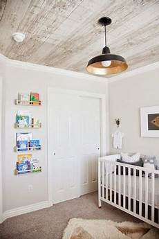 Holzvertäfelung Decke Streichen - modern nursery with a masculine touch photos the stir
