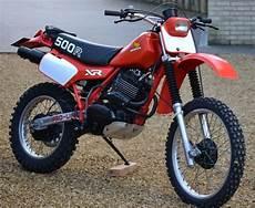 one of my bdirt bikes xr500 1982 enduro vintage