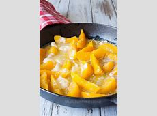 old fashioned peach cobbler canned peaches