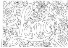 Ausmalbilder Liebe Gratis Ausmalbild Im Februar Coloring Page Liebe Zum