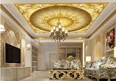 flower wallpaper ceiling home decoration 3d ceiling murals wallpaper european