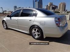 2005 nissan altima 2 5s auto silver custom wheels drives