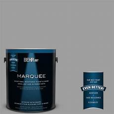 behr marquee 1 gal ppu26 06 elemental gray satin enamel exterior paint 945401 the home depot