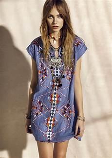 look hippie femme 1001 id 233 es pour la tenue hippie chic qui aider 224 se