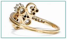 unendlich zeichen ring gold