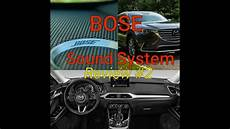 2019 mazda cx9 impressed bose sound system review