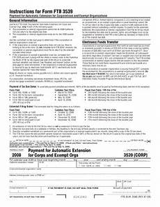 california state extension 3539 instructions fill online