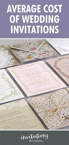 Average Cost For Wedding Invites average cost of wedding invitations