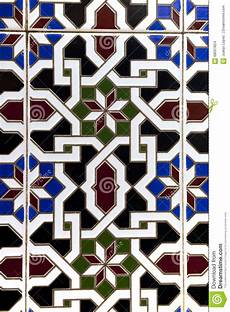 Arabische Muster Malvorlagen Bilder Arabische Muster In Den Keramikfliesen Stockfoto Bild