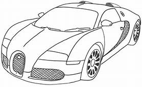 Bugatti Coloring Pages 1  Race Car Cars