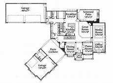 house plans porte cochere porte cochere motor court house plan french country