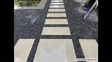 Gartenprojekt Trittplatten