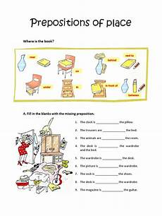 preposition of time worksheets for grade 3 3491 prepositions of place worksheet
